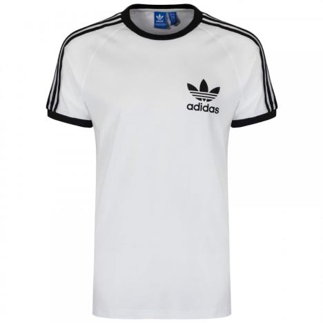 Adidas 3 STRIPE T-SHIRT  White