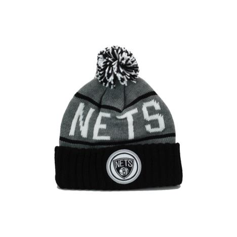 nets grey black bob