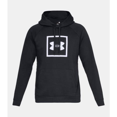UNDER ARMOUR BOX LOGO HOODY BLACK